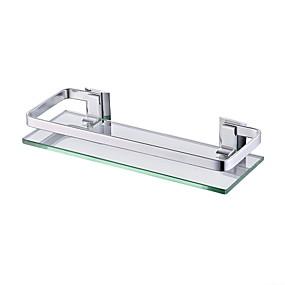رخيصةأون أدوات الحمام-رف الحمام تصميم جديد / كوول الحديث الالومنيوم 1PC مثبت على الحائط
