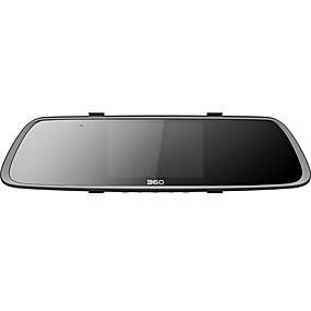 voordelige Auto DVR's-360 360M302 1080p HD / met achteruitrijcamera Auto DVR 140 graden Wijde hoek SonyCcd 4.3 inch(es) TFT LCD-monitor Dash Cam met WIFI / G-Sensor / Parkeermodus Autorecorder