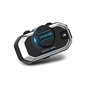 رخيصةأون سماعات خوذات الدراجات النارية-V8 بلوتوث 3.0 سماعاتبلوتوث الأذن شنقا الاسلوب بلوتوث / MP3 / متعدد إنترفون دراجة نارية