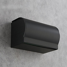 cheap Bathroom Gadgets-Toilet Paper Holder New Design / Multifunction Modern Aluminum 1pc Toilet Paper Holders Wall Mounted
