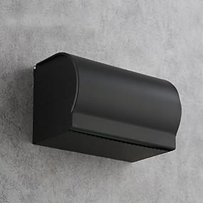 povoljno Dodaci za kupaonicu-Držač toaletnog papira New Design / Multifunkcionalni Moderna Aluminijum 1pc Držači za toaletni papir Zidne slavine