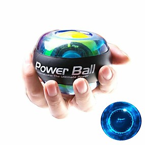 "cheap Exercise & Fitness-Powerball Spinner Gyroscopic Strengthener 3"" (7.5 cm) Diameter Rubber LED Essential Stress Relief Hand Therapy Wrist Trainer Exercise & Fitness Gym Workout Workout For Wrist Hand Forearm Home Office"
