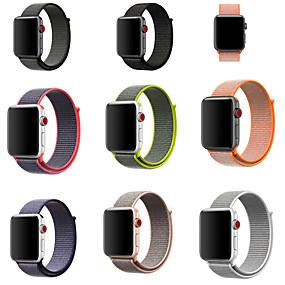 abordables Déstockage-Bracelet de Montre  pour Apple Watch Series 5/4/3/2/1 Apple Bracelet Sport / Boucle Moderne Nylon Sangle de Poignet