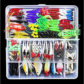 20er madenbox Set with 4x5 Artificial bees maggots Soft Fishing Lure Hook Bait
