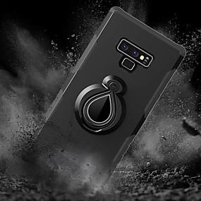 Недорогие Чехлы и кейсы для Galaxy Note 8-Кейс для Назначение SSamsung Galaxy Note 9 / Note 8 Защита от удара / со стендом / Кольца-держатели Кейс на заднюю панель Плитка / броня Твердый ПК