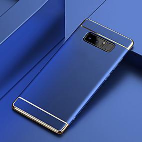 baratos Comprar por Modelo de Celular-Capinha Para Samsung Galaxy Note 9 / Note 8 Galvanizado Capa traseira Sólido Rígida PC