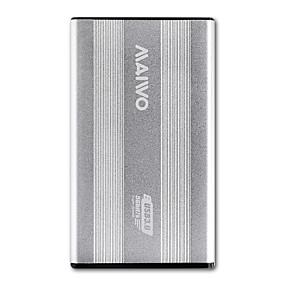 olcso Merevelemez huzatok-MAIWO USB 3.0 nak nek SATA 3.0 Külső merevlemez-ház Plug and play / Szerszám nélküli szerelés K2501