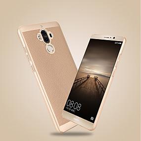 Недорогие Чехлы и кейсы для Huawei серии Y-Кейс для Назначение Huawei Honor 9 / Honor 6A / Honor V9 Ультратонкий Кейс на заднюю панель Однотонный Твердый ПК / Mate 9 Pro