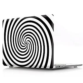 """hesapli MacBook Pro 15"""" Kılıfları-Macbook hava pro retina 11 12 13 15 için geometrik desen pvc laptop kapak kılıf macbook için yeni pro 13.3 15 inç ile dokunmatik bar"""