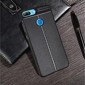 Недорогие Чехлы и кейсы для Huawei Honor-Кейс для Назначение Huawei Huawei Honor 10 / Honor 9 / Huawei Honor 9 Lite Ультратонкий Кейс на заднюю панель Однотонный Мягкий ТПУ