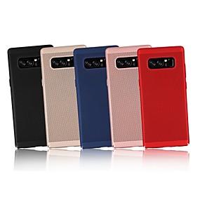 Недорогие Чехлы и кейсы для Galaxy Note 8-Кейс для Назначение SSamsung Galaxy Note 9 / Note 8 / Note 5 Ультратонкий Кейс на заднюю панель Однотонный Твердый ПК