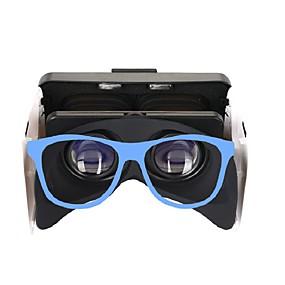 olcso VR Glasses-3D-s szemüvegek Kék VR Virtuális Valódi Szemüvegek Kocka alakú Szilícium