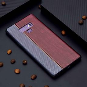 Недорогие Чехлы и кейсы для Galaxy Note 8-Кейс для Назначение SSamsung Galaxy Note 9 / Note 8 С узором Кейс на заднюю панель Плитка Мягкий ТПУ
