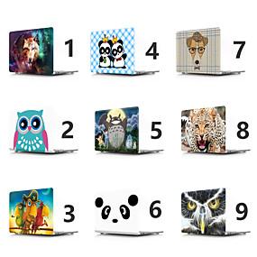 """hesapli MacBook Pro 15"""" Kılıfları-MacBook Kılıf Köpek / Hayvan / Panda PVC için Yeni MacBook Pro 15"""" / Yeni MacBook Pro 13"""" / MacBook Pro 15 inç"""