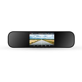 Недорогие Видеорегистраторы для авто-Xiaomi 7897905 1080p Беспроводной Автомобильный видеорегистратор 160° Широкий угол 5 дюймовый IPS Капюшон с WIFI / Ночное видение / Режим парковки Нет Автомобильный рекордер