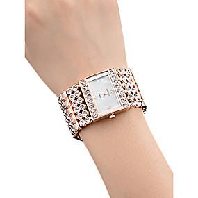 ieftine Cuarț ceasuri-Pentru femei Ceas de Mână Piața de ceas Quartz femei Rezistent la Apă Analog Roz auriu Auriu Argintiu / Oțel inoxidabil