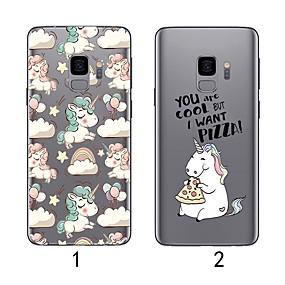 billiga Galaxy S7 Skal / fodral-fodral Till Samsung Galaxy S9 / S9 Plus / S8 Plus Ultratunt / Genomskinlig Skal Flamingo Mjukt TPU