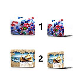 """hesapli MacBook Pro 15"""" Kılıfları-MacBook Kılıf 3D Karikatür PVC için Yeni MacBook Pro 15"""" / Yeni MacBook Pro 13"""" / MacBook Pro 15 inç"""