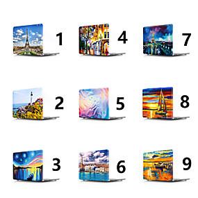 """رخيصةأون ماك بوك برو 15 """"الحالات-MacBook صندوق منظر / رسم زيتي PVC إلى Macbook Pro """"15جديد / MacBook Pro """"13جديد / MacBook Pro 15-inch"""