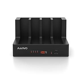 olcso Számítógépes periferiális egységek-MAIWO USB 3.0 nak nek SATA 3.0 Külső merevlemez-dokkoló állomás Plug and play / LED kijelzővel / Támogatás Offline másolás 40000 GB K3094A