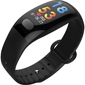 رخيصةأون الأساور الذكية-KUPENG B51 للجنسين سوار الذكية Android iOS بلوتوث رياضات ضد الماء رصد معدل ضربات القلب أصفر فاتح شاشة لمس ECG + PPG عداد الخطى تذكرة بالاتصال متتبع النشاط متتبع النوم / أجد هاتفي / ساعة منبهة