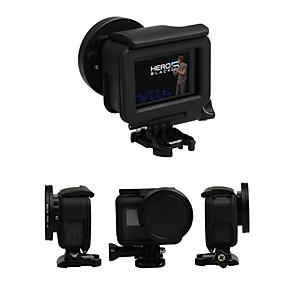 olcso GoPro tartozékok-Lencsevédő sapka Takarók Védelem 1 pcs mert Akciókamera Gopro 5 Szabadtéri gyakorlat Multisport Szabadtéri Üveg ABS + PC