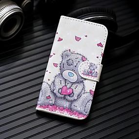 voordelige Galaxy S7 Edge Hoesjes / covers-hoesje Voor Samsung Galaxy S9 / S9 Plus / S8 Plus Portemonnee / Kaarthouder / met standaard Volledig hoesje Panda Hard PU-nahka
