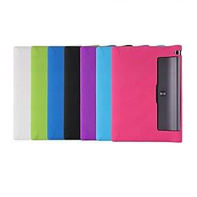 povoljno Kupuj prema modelu telefona-Θήκη Za Lenovo Lenovo Yoga Tab 3 10.1 (YT3-X50F / M) Otporno na trešnju / Ultra tanko Korice Jednobojni Mekano silika gel