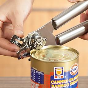 رخيصةأون أدوات & أجهزة المطبخ-ستانلس ستيل فتاحة علب المطبخ الإبداعية أداة أدوات أدوات المطبخ متعددة الوظائف 1PC