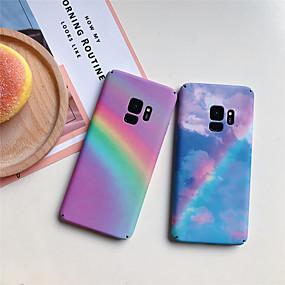 voordelige Galaxy S7 Hoesjes / covers-hoesje Voor Samsung Galaxy S9 / S9 Plus / S8 Plus Patroon Achterkant Landschap Hard PC