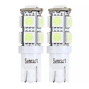 Недорогие Задние фонари-SENCART 4шт T10 / BA9S Мотоцикл / Автомобиль Лампы 2 W SMD 5050 120 lm 9 Светодиодная лампа Лампа поворотного сигнала / Задний свет / Внутреннее освещение Назначение