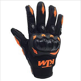 voordelige Motorhandschoenen-ktm motorhandschoenen heren rijden volledige vinger ademende handschoenen voor motorcross racing atv dirt bike bescherming buiten