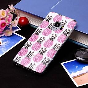 voordelige Galaxy S7 Edge Hoesjes / covers-hoesje Voor Samsung Galaxy S9 / S9 Plus / S8 Plus IMD / Doorzichtig Achterkant Fruit Zacht TPU