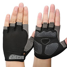 Недорогие Мотоциклетные перчатки-Half-палец Все Мотоцикл перчатки Сетчатый материал / силикагель / Волокно Дышащий / Быстровысыхающий
