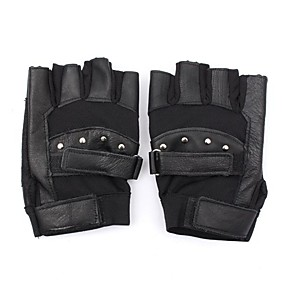 Недорогие Мотоциклетные перчатки-Half-палец Все Мотоцикл перчатки Дышащая сетка / Овчина Дышащий / Сохраняет тепло