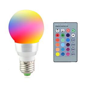 olcso LED okos izzók-2 W LED reflektorok 2700-7000 lm E14 E26 / E27 1 LED gyöngyök Nagyteljesítményű LED Távvezérlésű Dekoratív RGB 85-265 V / 1 db. / RoHs / CCC