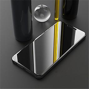 Недорогие Чехлы и кейсы для Huawei Mate-Кейс для Назначение Huawei Mate 10 / Mate 10 pro / Mate 10 lite Покрытие / Зеркальная поверхность / Флип Чехол Однотонный Твердый Кожа PU / Mate 9 Pro