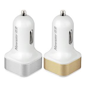 Недорогие Автоэлектроника-Newsmy Автомобиль Автомобильное зарядное устройство / Прикуриватель 2 USB порта для 12 V