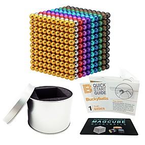 olcso Újdonságok-1000 pcs 5mm Mágneses játékok mágneses Balls Mágneses játékok Építőkockák Super Strong ritkaföldfémmágnes Neodímium mágnes Neodímium mágnes Mágneses Stressz és szorongás oldására Office Desk Toys