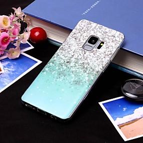 voordelige Galaxy S7 Edge Hoesjes / covers-hoesje Voor Samsung Galaxy S9 / S9 Plus / S8 Plus IMD / Doorzichtig Achterkant Landschap Zacht TPU