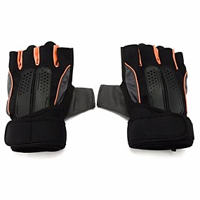voordelige Motorhandschoenen-Half-vinger Heren Motorhandschoenen mikrokuituliina Ademend / Beschermend