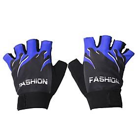 Недорогие Мотоциклетные перчатки-Half-палец Все Мотоцикл перчатки Ткань Сохраняет тепло / Износостойкий
