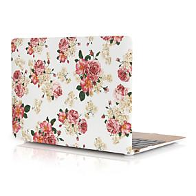 """hesapli MacBook Pro 15"""" Kılıfları-Macbook case çiçek pvc kılıf apple macbook air pro için retina 11 12 13 15 laptop kapak macbook için yeni pro 13.3 15 inç ile dokunmatik bar"""
