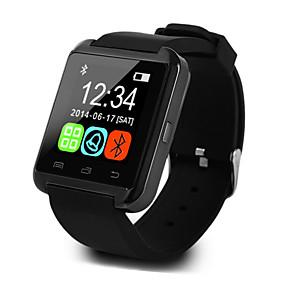 povoljno Pametni satovi-U8 Muškarci Smart Satovi Android iOS Bluetooth Sportske Ekran na dodir Kalorija Temperature Display Smart Case Mjerač aktivnosti Budilica / Hands-Free telefoniranje / Upravljanje multimedijom