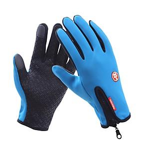 voordelige Motorhandschoenen-Lange Vinger Unisex Motorhandschoenen Oxfordstof waterdicht / Houd Warm / Antislip