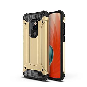 Недорогие Чехлы и кейсы для Huawei Mate-Кейс для Назначение Huawei Mate 10 pro / Mate 10 lite / Huawei Mate 20 lite Защита от удара Кейс на заднюю панель броня Твердый ПК