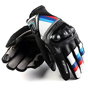 Χαμηλού Κόστους Γάντια Μοτοσυκλέτας-Ολόκληρο το Δάχτυλο Γιούνισεξ Γάντια Μοτοσυκλέτας Δερμάτινο Ανθεκτικό στη φθορά / Προστατευτικό / Μη ολίσθηση