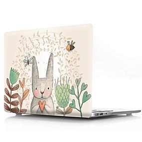 "povoljno MacBook Air 13"" maske-MacBook Slučaj Životinja / Crtani film PVC za MacBook Air 11"" / New MacBook Pro 13"" / New MacBook Air 13"" 2018"