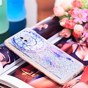Недорогие Чехлы и кейсы для Huawei Mate-Кейс для Назначение Huawei Mate 10 Защита от удара / Сияние и блеск Кейс на заднюю панель Ловец снов / Сияние и блеск Мягкий ТПУ