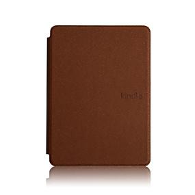 povoljno Kindle 4-Θήκη Za Amazon Kindle PaperWhite 4 Otporno na trešnju / Auto Sleep / Wake Up Korice Jednobojni Tvrdo PU koža